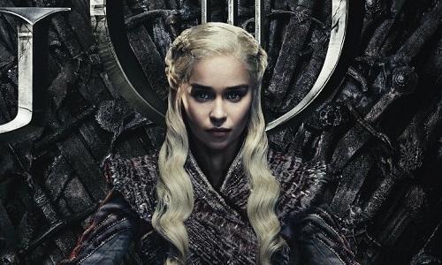 Tạo hình Daenerys trong mùa cuối.