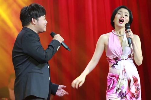 Quang Lê, Lệ Quyên là cặp bài trùng trên sân khấu.