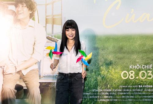 Ca sĩ Phương Thanh cũng góp mặt trong buổi ra mắt phim.