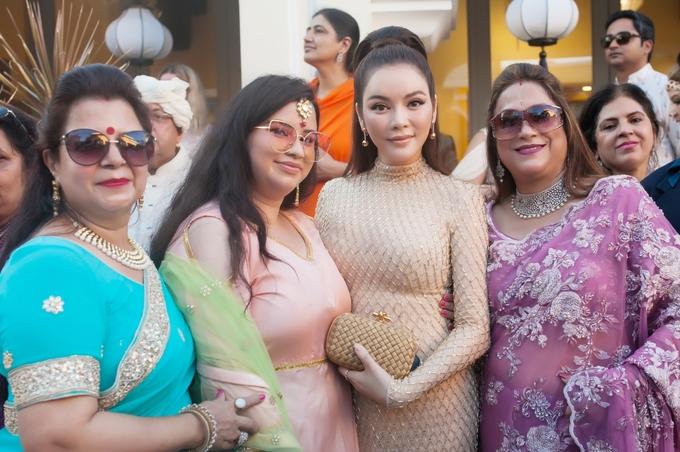 Lý Nhã Kỳ dự đám cưới đại gia Ấn Độ ở Phú Quốc
