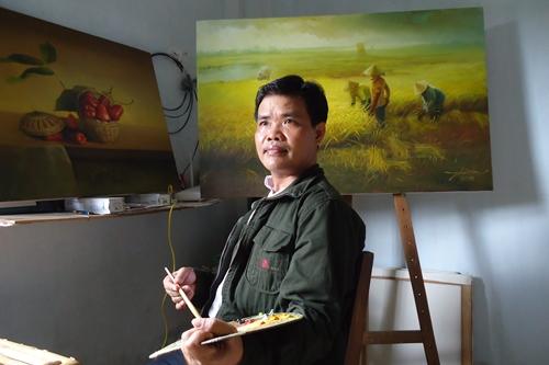 Họa sĩ Phúc An tên thật là Phan Văn Út, tên thật