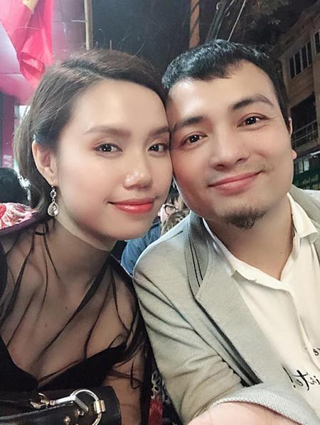 Tăng Ngân Hà và chồng - nhạc trưởng Lưu Quang Minh.