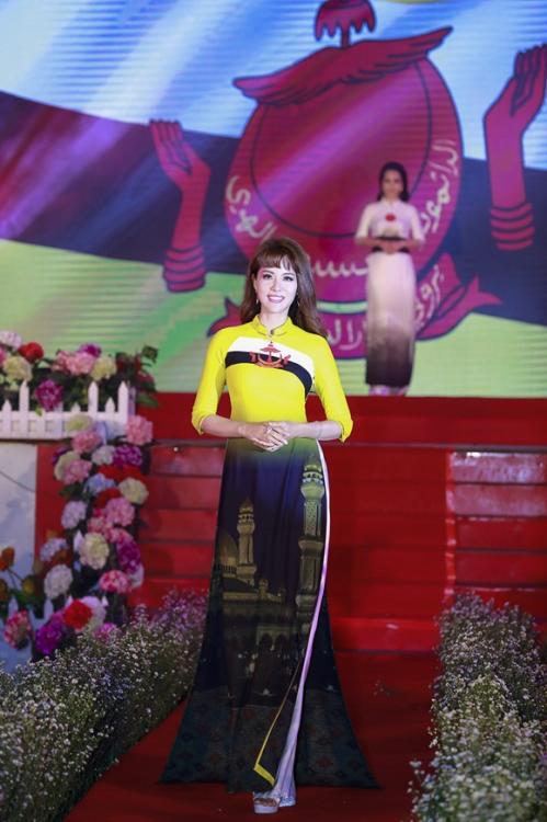 Á hậu Băng Châu đảm nhận hai vai trò trong sự kiện ngày 8/3 (xin bài edit) - 4