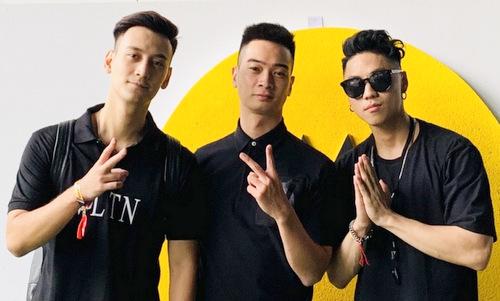 SlimV giao lưu cùng các nhà sản xuất EDM châu Á.