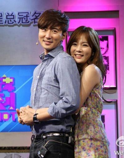 Chae Rim và Cao Tử Kỳ.