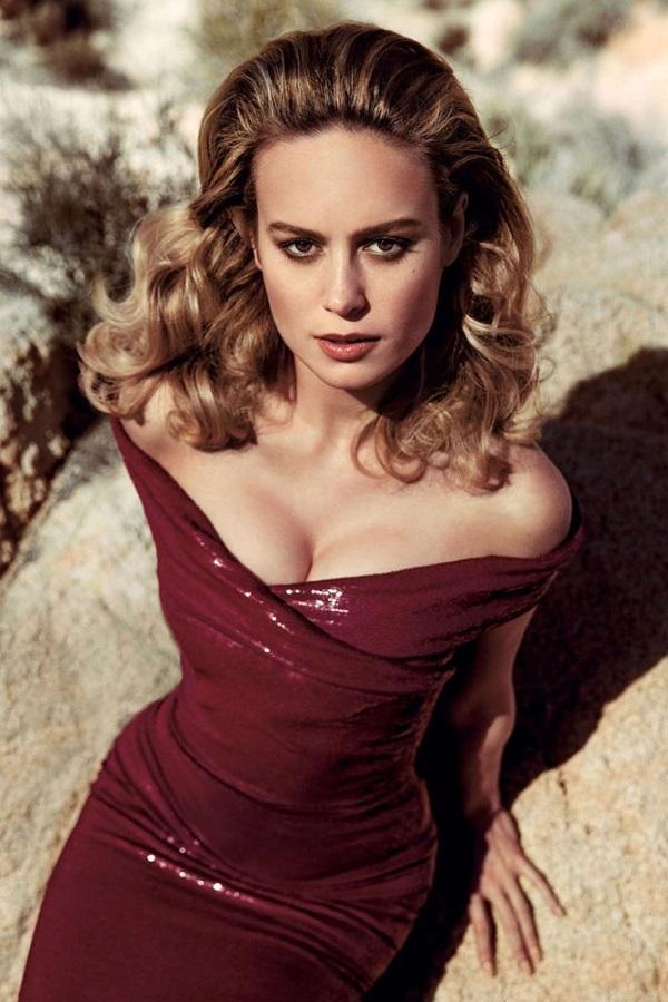 Vẻ nóng bỏng của minh tinh Brie Larson