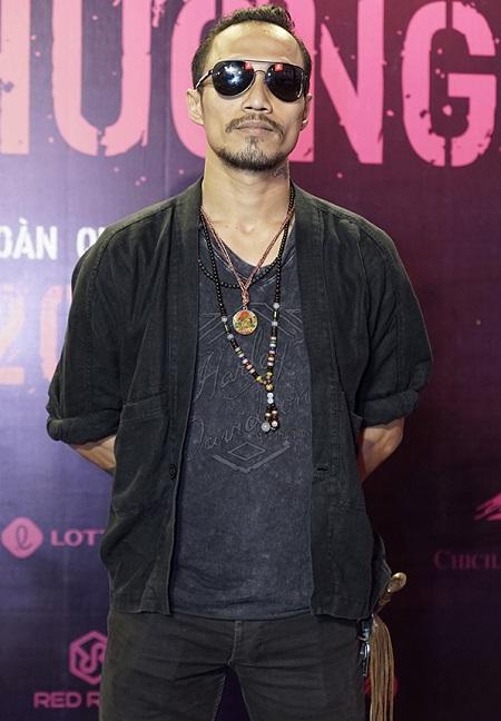 Phạm Anh Khoa ở buổi ra mắt Hai Phượng.