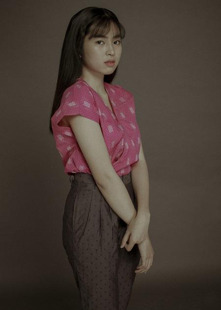 Khánh Vân trong vai Trà Long.