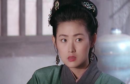 Vương Tư Ý đóng dâm phụ Phan Kim Liên trong Thủy Hử 1988.