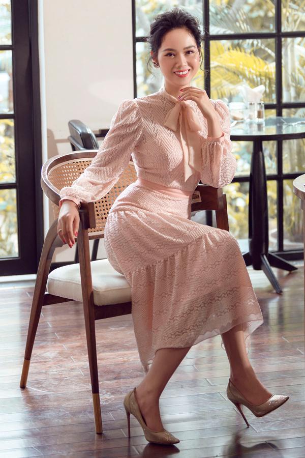 Nhan sắc tuổi 34 của Hoa hậu Mai Phương