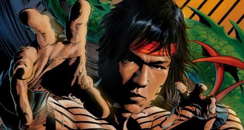 Shang-Chi trong truyện Marvel.