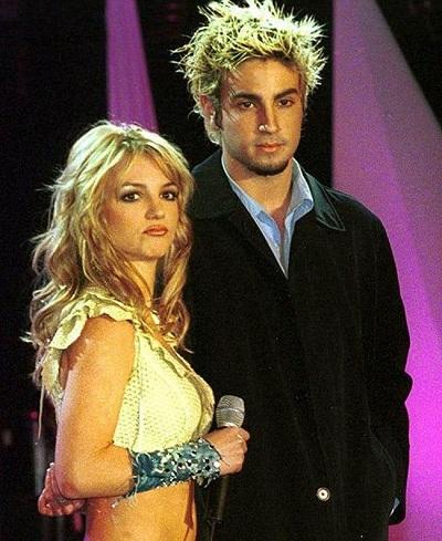 Britney Spears và Wade Robson.