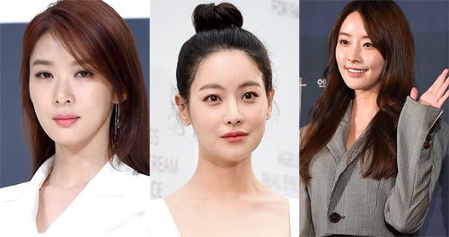 Các diễn viên Lee Chung Ah, Oh Yeon Seo vàJeong Ju Mi (từ trái sang).