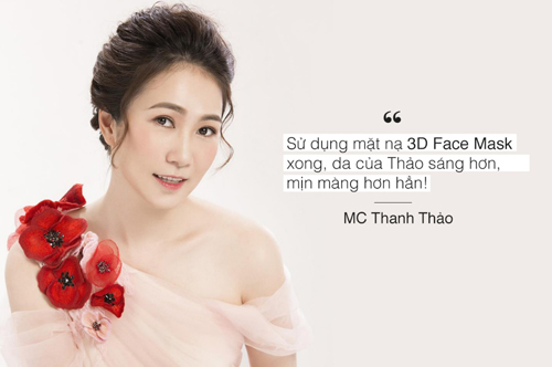 MC Thanh Thảosở hữu làn da như gáiđôi mươi dù đã bước sang tuổi tứ tuần.