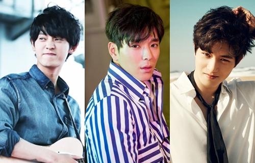 Từ trái qua:Jung Joon Young, Choi Jong Hoon,Lee Jong Hyun.