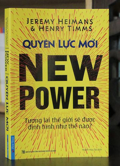 Bìa sách Quyền lực mới.