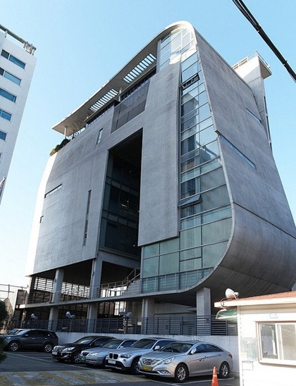 Trụ sở YG Entertainment tại quận Mapo, Seoul, Hàn Quốc.
