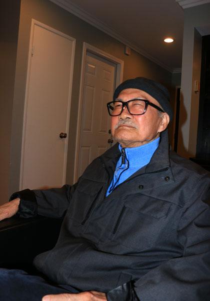 Nghệ sĩ Diệp Lang ở tuổi 78.