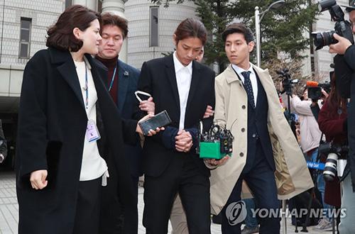 Jung Joon Young bị giải đi ngày 21/3.