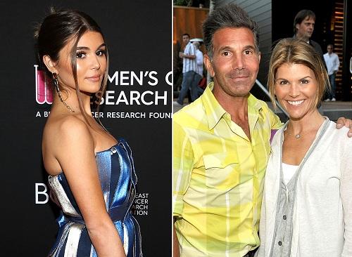 Olivia Jade Giannulli và bố - Mossimo Giannulli và mẹ Lori Loughlin. Ảnh: Wire Image.