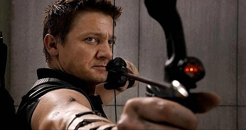 Jemery Renner trong The Avengers 2012.
