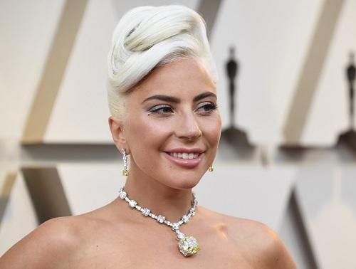 Ca sĩ Lady Gaga tại Lễ trao giải Oscars 2019. Ảnh: Justjared.