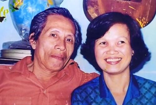 Vợ chồng cố nhạc sĩ Y Vân lúc trẻ.