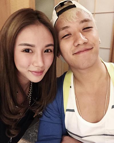 Kim lim - ái nữ của tỷ phú Singapore Peter Lim cũng thân thiết với Seungri. Cô mới đây phủ nhận liên quan chuyện làm ăn cũng như bê bối của nam ca sĩ.