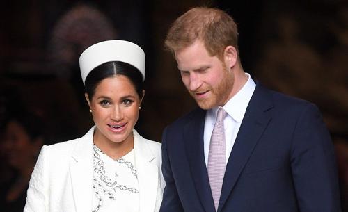 Hoàng tử Harry và vợ trở thành nguồn cảm hứng phim ảnh. Ảnh: WireImage.