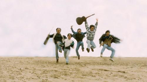 Ban nhạc Bức Tường những ngày đầu thành lập.