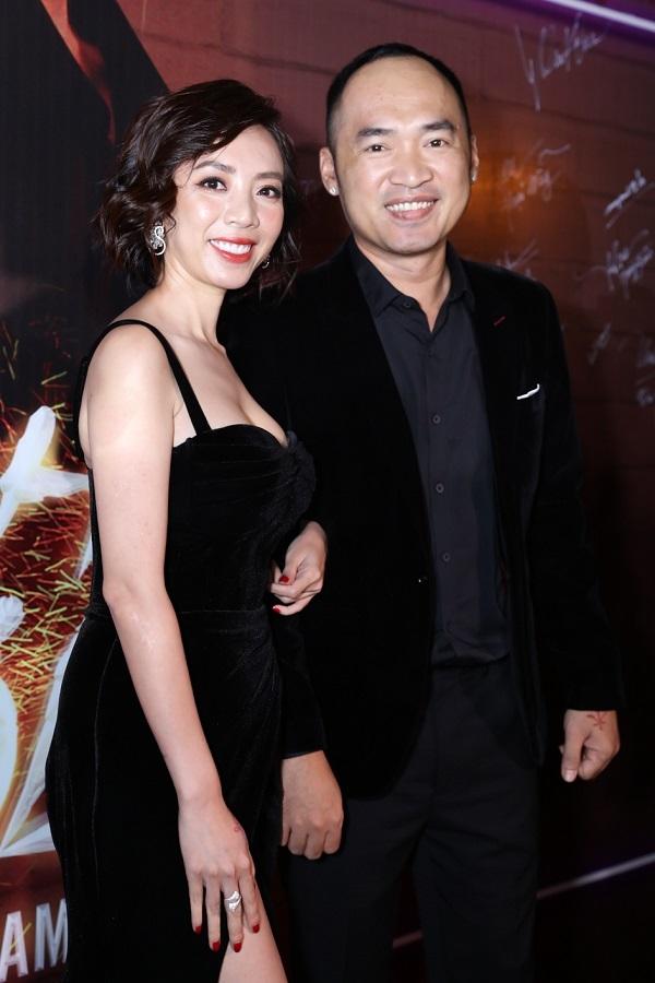 Dàn sao xem phim Thu Trang, Diệu Nhi