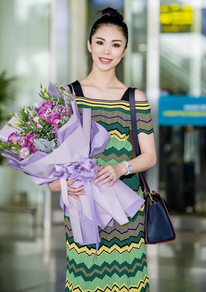 Hoa hậu Riyo Mori.