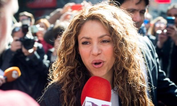 Shakira hầu tòa tại Madrid vì nghi vấn đạo nhạc. Ảnh: Rex.