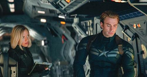 Chris Evans (phải) tạm biệt Marvel sau bom tấn Avengers: Endgame tháng 4 tới. Ảnh: Marvel Studio