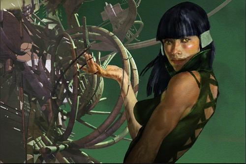 Tạo hình nhân vật Sersi trong truyện tranh Marvel. Ảnh: Marvel Studio