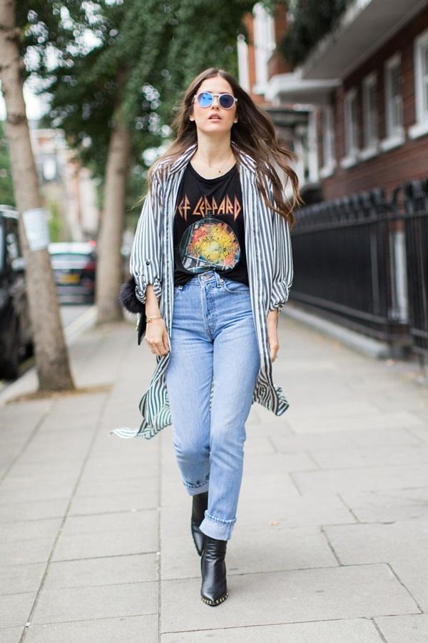 Những món đồ không nên kết hợp với quần jeans