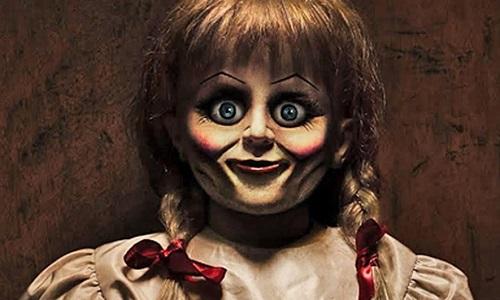 Annabelle trên phim được phát triển từ một búp bê có thật, bị đồn ma ám.