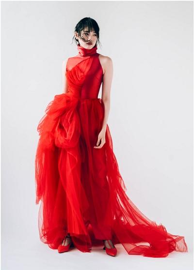 Image result for PHUONG MY tham dự tuần lễ thời trang cưới lớn nhất thế giới New York Fashion Week Bridal
