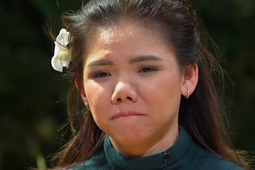 Minh Như nghẹn ngào khi bị loại khỏi American Idol.