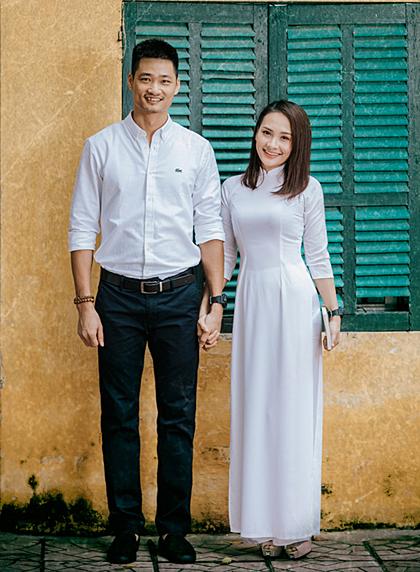 Bảo Thanh và ông xã học chung trường cấp ba ở Bắc Giang.