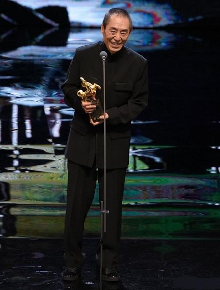 Trương Nghệ Mưu đoạt giải Kim Mã năm 2018.
