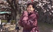 Mai Phương đưa con gái đi Nhật ngắm hoa anh đào