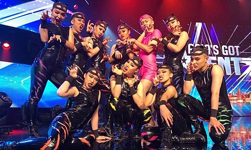 Nhóm nhảy Hà Nội vuột chung kết Asia's Got Talent