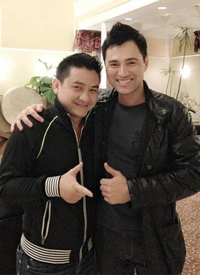 Ca sĩ Leon Vũ và cố diễn viên Anh Vũ chơi thân với nhau gần 15 năm.