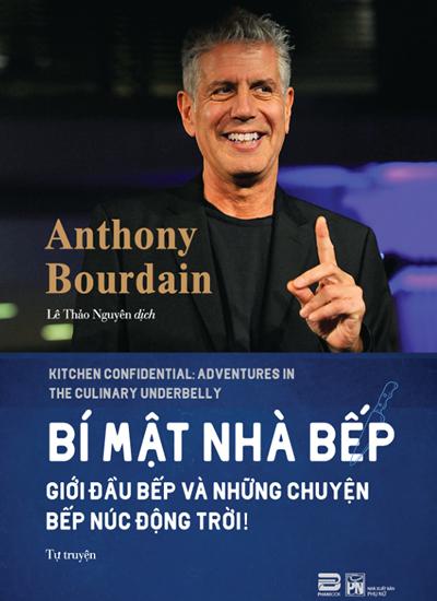 Bìa sách tiếng Việt cuốn Bí mật nhà bếp (Phanbook và Nhà xuất bản Phụ Nữ ấn hành, dịch giả: Lê Thảo Nguyên).