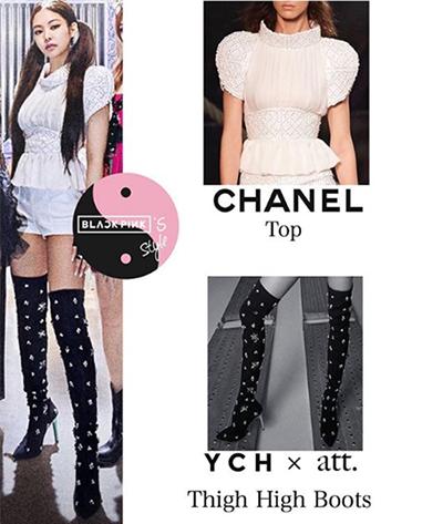 Các thành viên diện loạt hàng hiệu trong MV, trong đó đắt nhất là chiếc áo Chanel có giá 19.000 USD (44o triệu đồng).