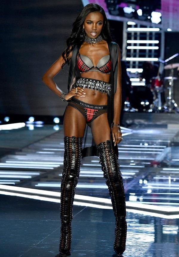 Hình thể Leomie Anderson - 'thiên thần' mới của Victoria's Secret