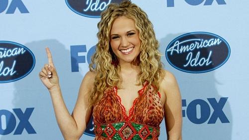 Nữ hoàng nhạc đồng quê xuất hiện lần đầu tại American Idol năm 2006. Ảnh: ET.