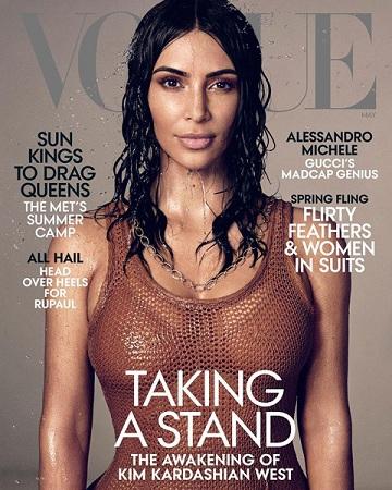 Người đẹp siêu vòng ba trên bìa tạp chí Vogue mới nhất. Ảnh: Vogue.