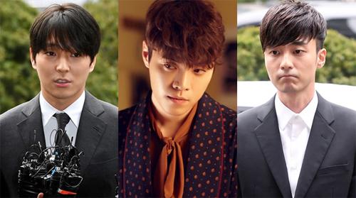 Từ trái sang: Choi Jong Hoon, Eddy Kim và Roy Kim.